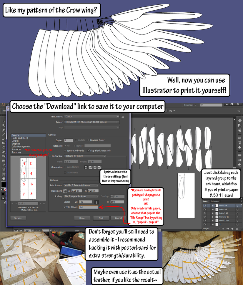Crow wing blueprint ai and pdf download by sunnybrook1 on deviantart crow wing blueprint ai and pdf download by sunnybrook1 malvernweather Images