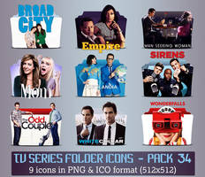 TV Series - Icon Pack 34