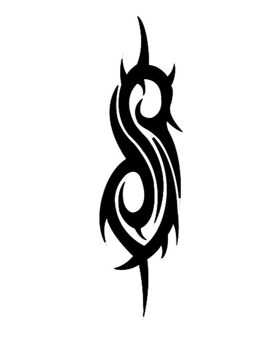 Slipknot tribal s brush by darkeyee on deviantart for Tattoos slipknot logo