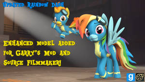 [DL] Updated Rainbow Dash [+Enhanced Model] by MythicSpeed
