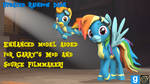 [DL] Updated Rainbow Dash [+Enhanced Model]