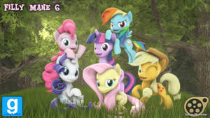 [DL] Filly Mane 6 by MythicSpeed