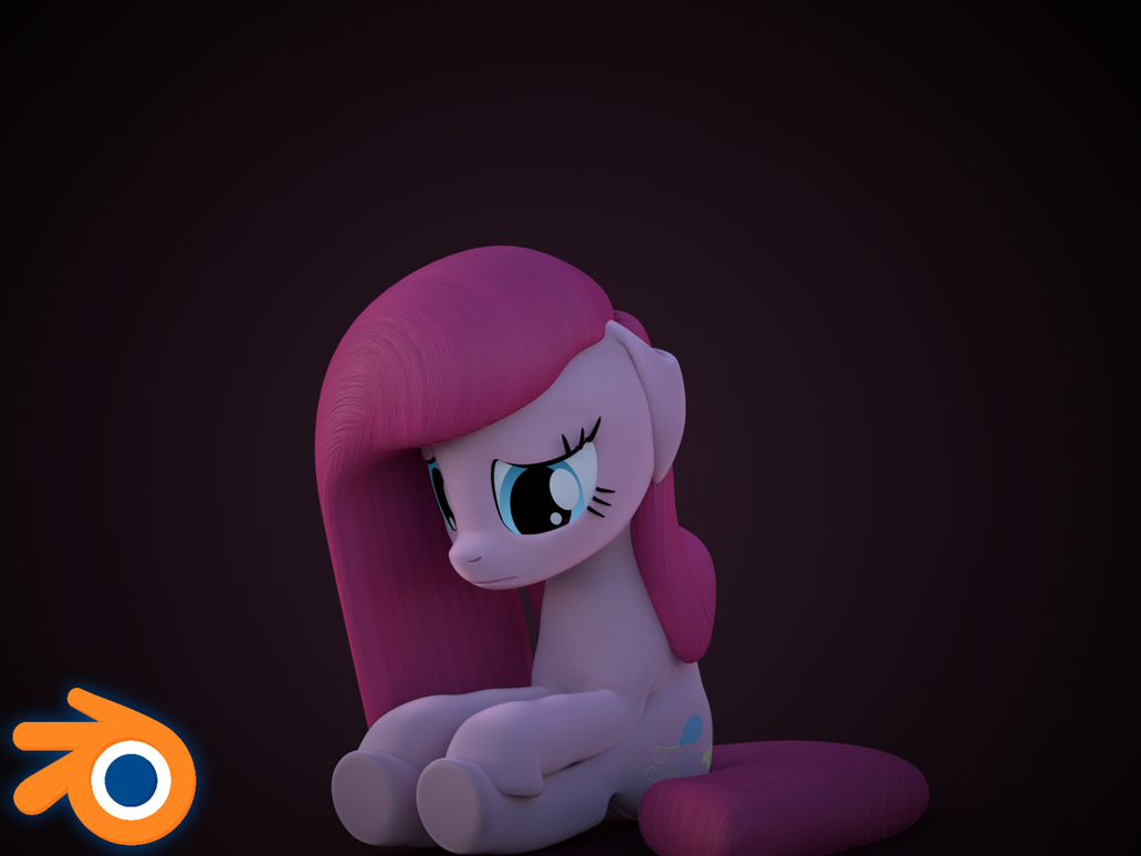 [Blender Release] Pinkamena Diane Pie by MythicSpeed