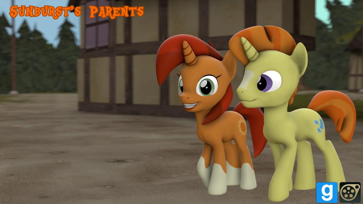 [DL] Sunburst's Parents by MythicSpeed
