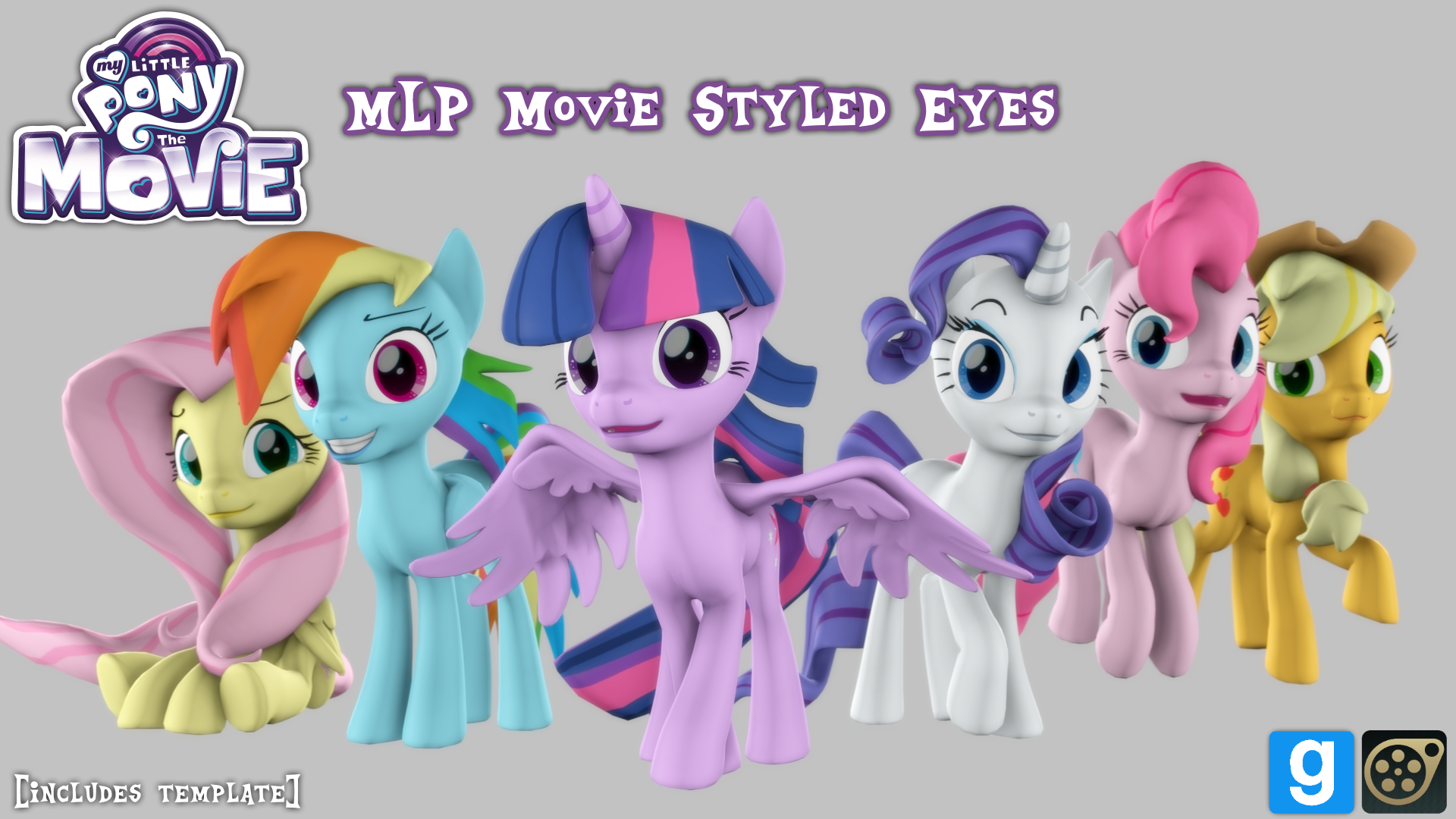 [DL] MLP Movie Eyes by MythicSpeed