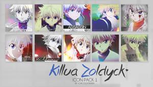 Killua Zoldyck Anime Icon Pack  // Hunter x Hunter