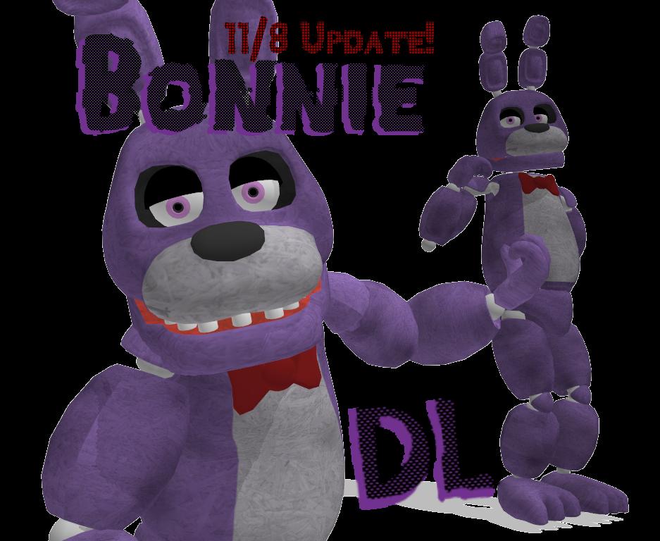MMD Bonnie FNAF [DL] by roze11san on DeviantArt