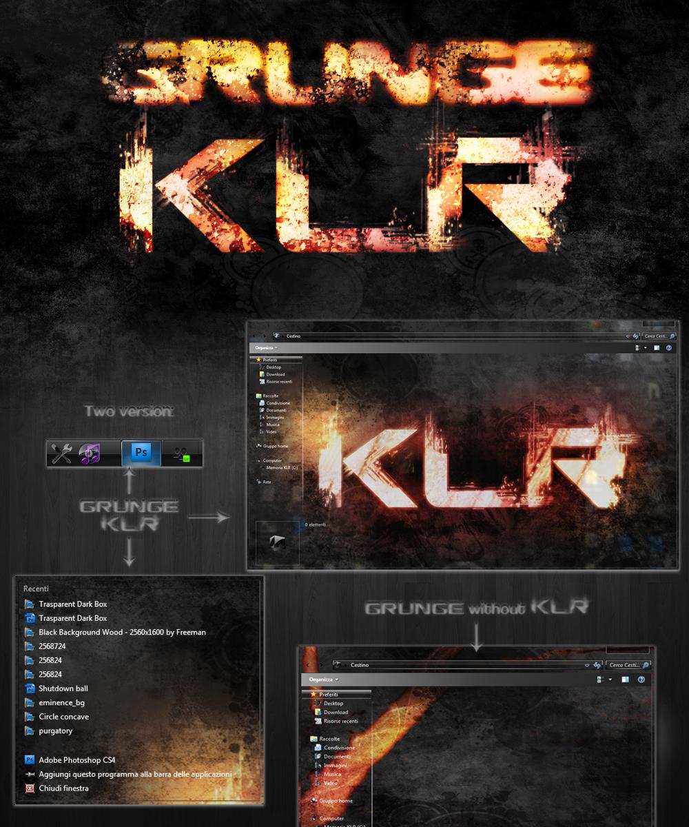 The Perfect Themes: Grunge KLR by Mughetsu