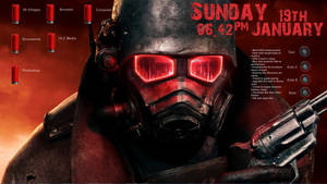 Fallout New Vegas 2014 Rainmeter 1.0 by 99villages