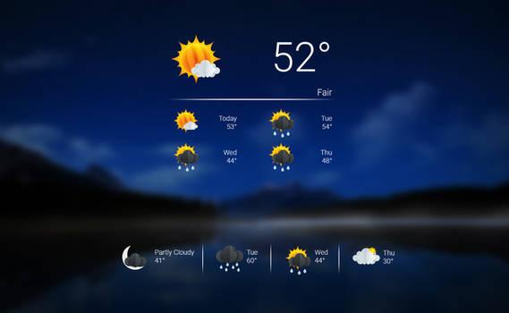 Origami Weather 1.1 (Update 06/05/2021)