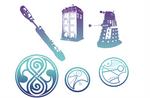 Doctor Who Brush set 1