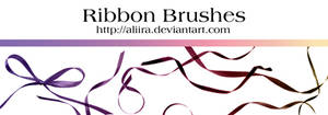 ribbons brushes by aliira