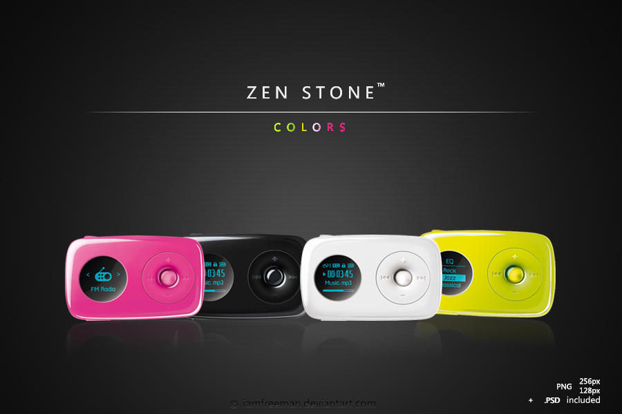 Zen Stone - Colors - icons by iAmFreeman