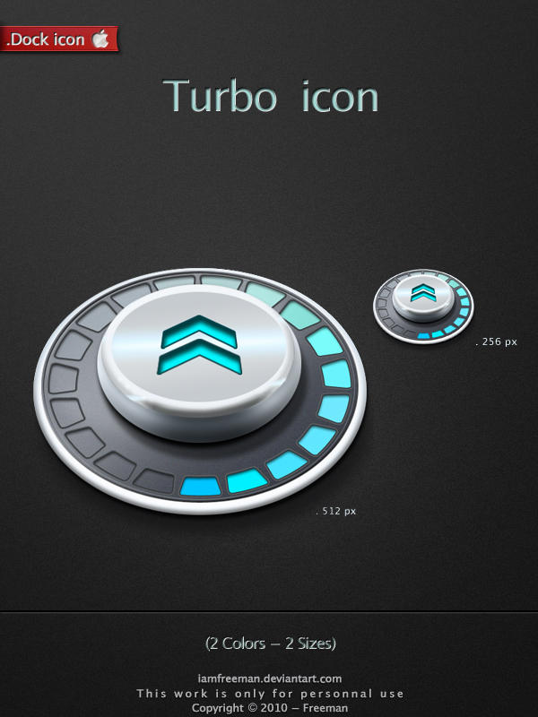 Turbo Dock icon by iAmFreeman