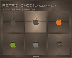 Studio Design-Retro Chic Apple by iAmFreeman