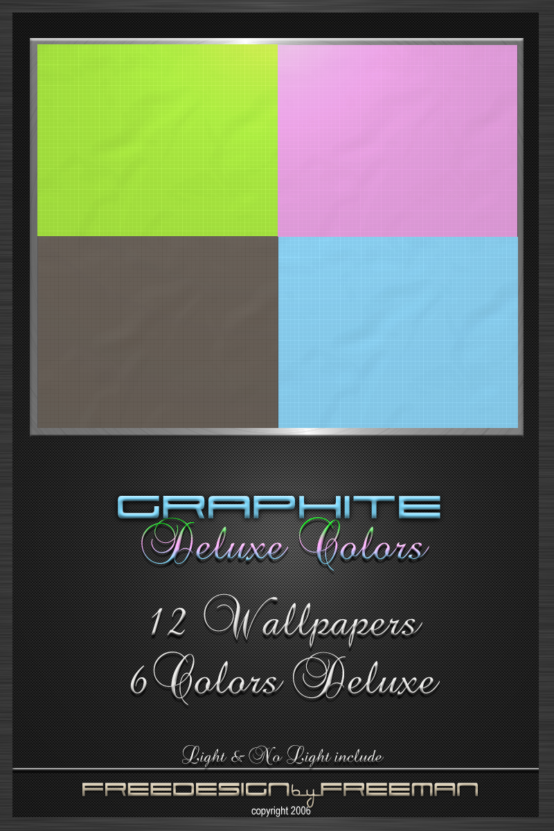 Graphite  Deluxe Colors by iAmFreeman