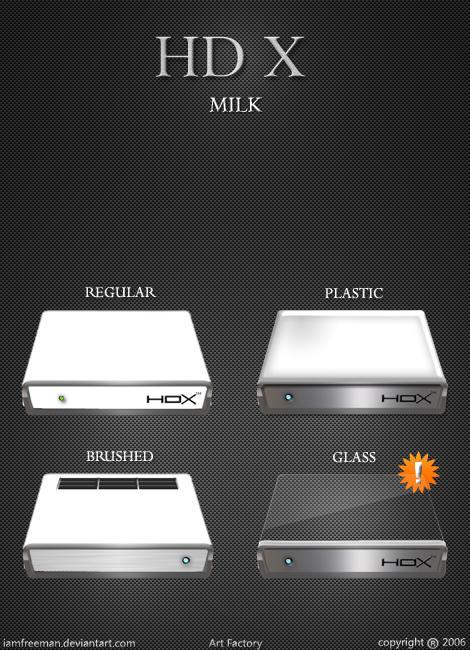 HD X Milk by iAmFreeman