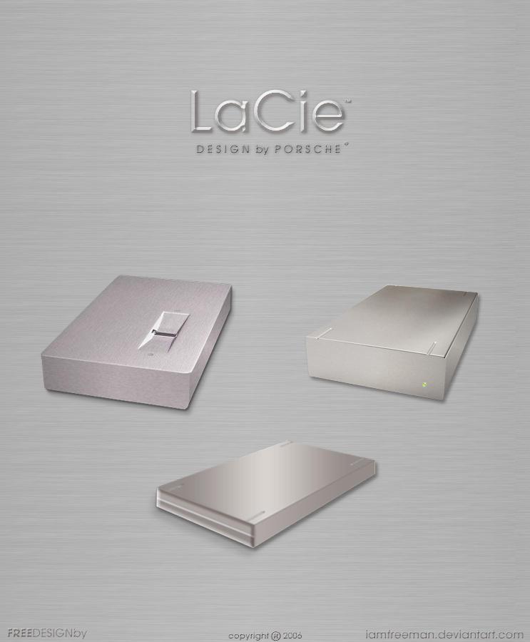 LaCie - Guikit by iAmFreeman