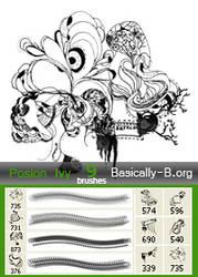Brushes I by Basically-Birds