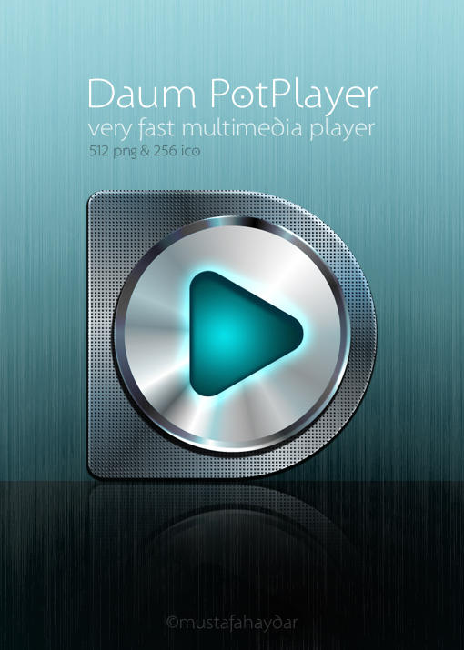 dock icon for Daum PotPlayer by mustafahaydar