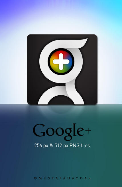 google+ dock icon -updated- by mustafahaydar