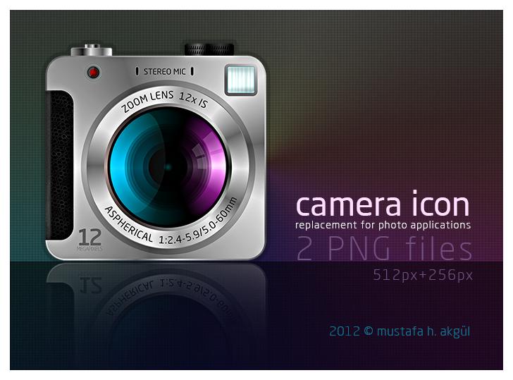 camera icon by mustafahaydar