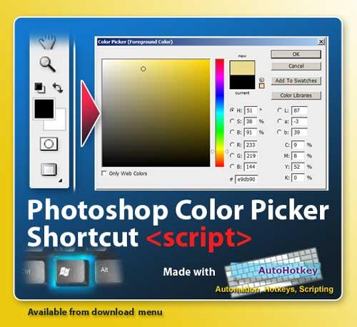Color picker hotkey- photoshop by bestelix on DeviantArt