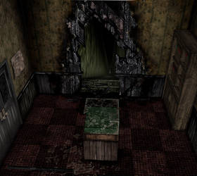 (XPS) Silent Hill 2 Historical Society Stairs