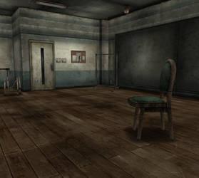 (XPS) Silent Hill 3 Hilltop Center Dance Studio