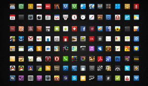 Icons for Android_By knight by dongbear