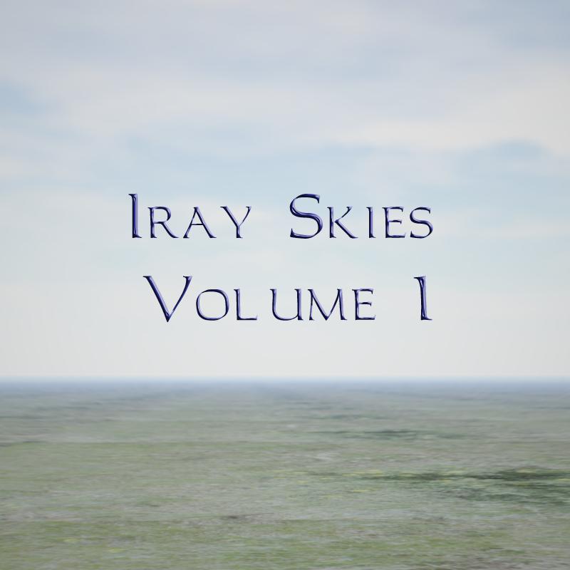 Iray Skies Volume 1