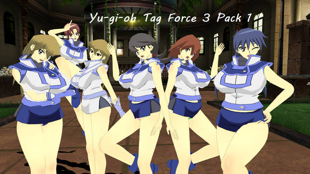 {DL} Yugioh Tag Force 3 Pack1