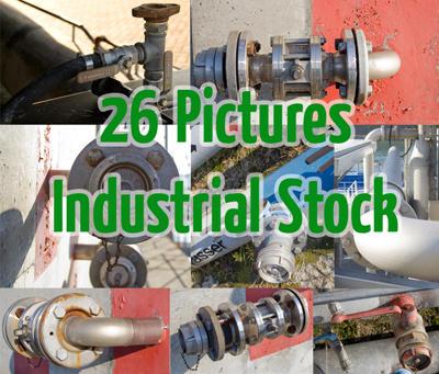 Industrial Stock Package by en-on
