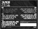 Demon Breeze Font