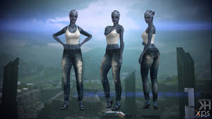Liara Jeans for XPS