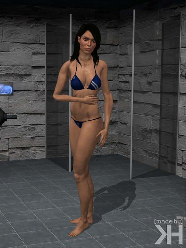 3d miranda lawson hot dancing mass effect - 2 part 6