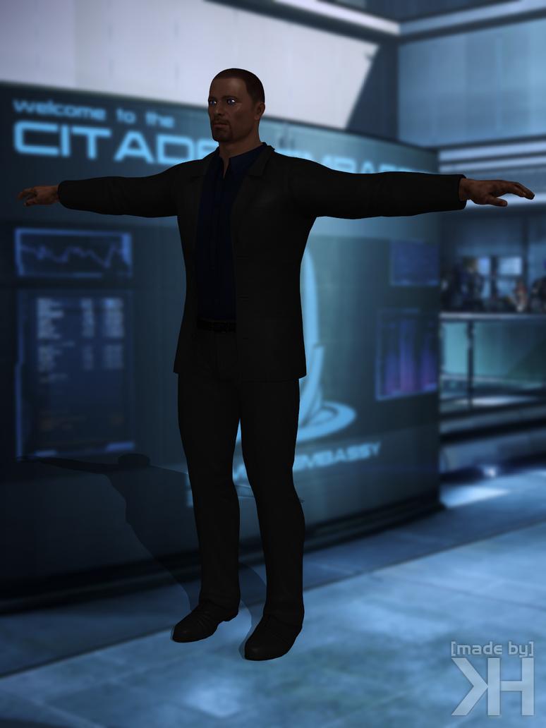 Steve Cortez Black Suit (XPS) by Grummel83