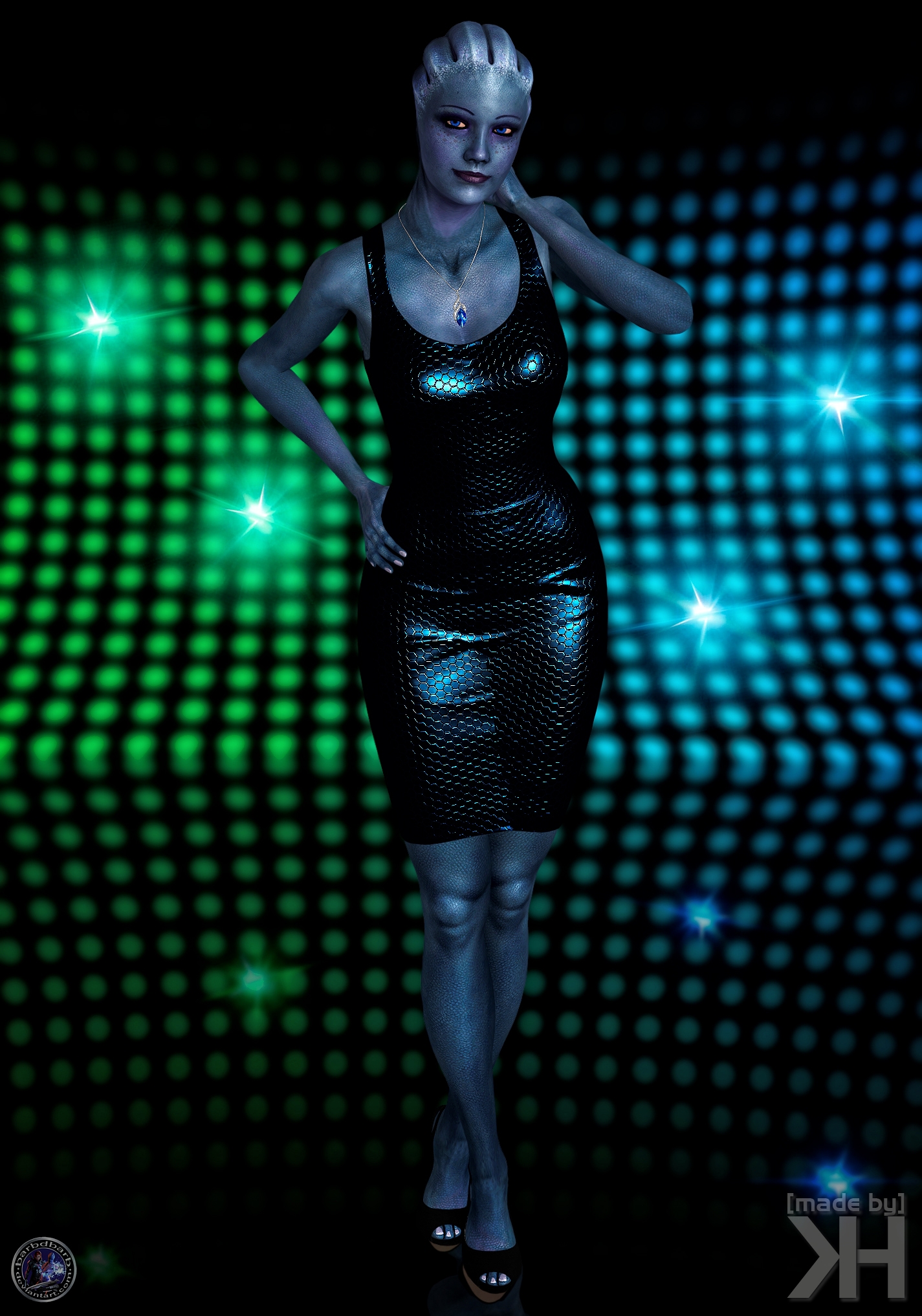 Liara Special Dress (XPS) by Grummel83