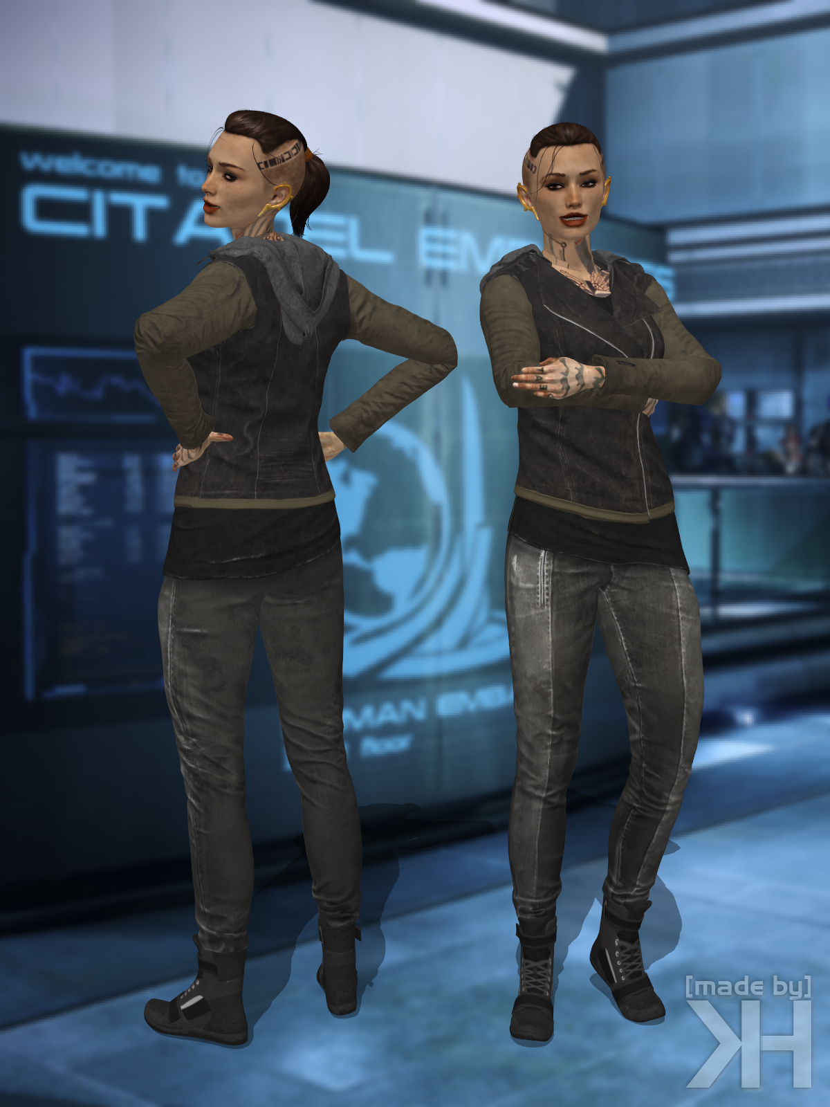 Jack Casual Runner Outfit (XPS)