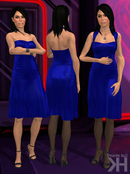 Ashley Williams Evening Dress V2 (XPS)