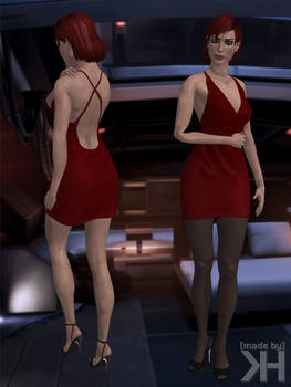 Jane Shepard Minidress (XPS)