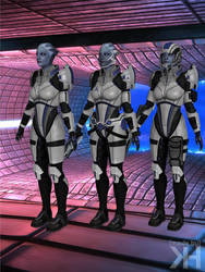 Liara Custom Armor (XPS) by Grummel83