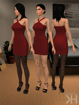 Ashley Williams Party Dress (XPS)