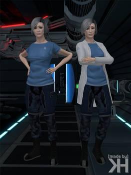 Doctor Chakwas Alternative Workwear (XPS)