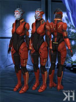 Samara Alternative Armor (XPS)