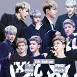 Oh Sehun's PNG Pack {Golden Disk Awards}