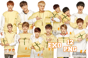 EXO's PNG Pack {Sunny10 2} by kamjong-kai