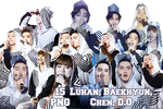 EXO PNG Pack {The Lost Planet}