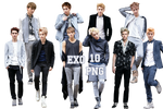 EXO's PNG Pack {Men's Style November 2013 Issue}