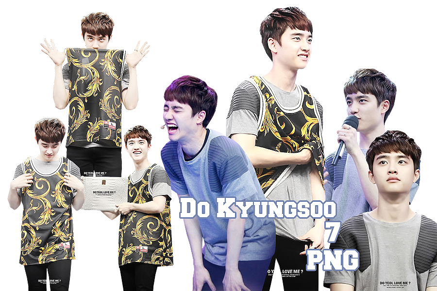 Do Kyungsoo's PNG Pack {Happy Camp} by kamjong-kai on ...
